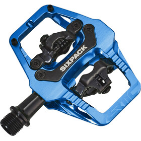 Sixpack Vertic Trail Pedale blue